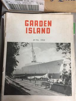 Sale 9152 - Lot 2413 - Collection of Garden Island Magazines