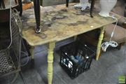 Sale 8326 - Lot 1239 - Rustic Kitchen Table
