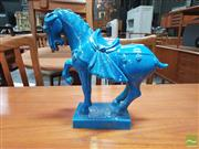 Sale 8451 - Lot 1052 - Italian Pottery Horse Figure (small chip)