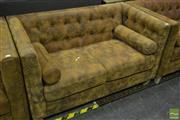 Sale 8532 - Lot 1438 - Box Chesterfield 2 Seater Lounge