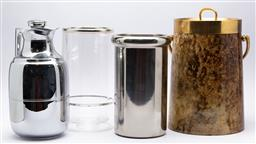 Sale 9099 - Lot 185 - A collection of drinkswares including thermos jug and coolers, tallest 35cm