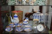 Sale 8217 - Lot 128 - Smiths Electric Clock with Other Wares incl Chinese Lidded Jar