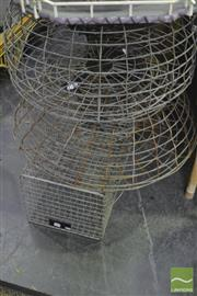 Sale 8338 - Lot 1293 - Pair of Crab Pots & Another (3)