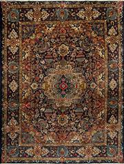 Sale 8345C - Lot 5 - Persian Tabriz  390cm x 295cm