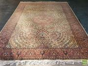 Sale 8499 - Lot 1018 - Pastle Tone Floor Rug (330 x 210)