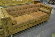 Sale 8532 - Lot 1440 - Box Chesterfield 3 Seater Lounge