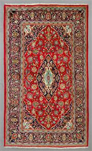 Sale 8539C - Lot 41 - Persian Kashan 230cm x 135cm