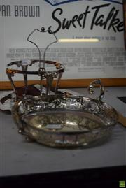 Sale 8563T - Lot 2588 - Silver Plated Wares incl Cake Stand