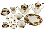Sale 8065 - Lot 74 - Royal Albert Old Country Roses Dinner & Tea Set