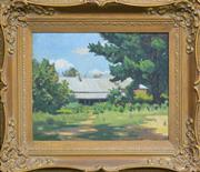 Sale 8162A - Lot 591 - Henry Cornwallis Gibbons (1884 - 1972) - Clarence House, Penrith, 1928 41 x 51cm