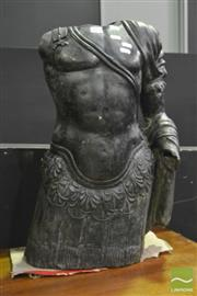 Sale 8380 - Lot 1003 - Bronze Torso Sculpture
