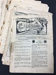 Sale 8539M - Lot 209 - The Magic Mirror 1909-1910, partial vols. for March, April, June, August, September & December 1909, some pages from November 1909...