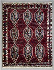 Sale 8539C - Lot 42 - Persian Shiraz 214cm x 165cm