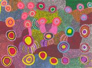 Sale 8696 - Lot 505 - Ngiyu Watson (c1945 - ) - Untitled, 2006 100 x 138cm (stretched and ready to hang)