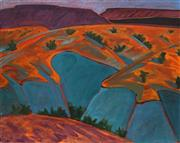 Sale 8692 - Lot 595 - Russell Hamilton (1950 - 2014) - Orange Hills, New Mexico, 1984 61 x 76cm