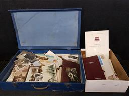 Sale 9254 - Lot 2245 - Collection of vintage ephemera in 2 boxes