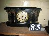 Sale 7504A - Lot 85 - BLACK MANTEL CLOCK