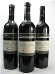 Sale 8278A - Lot 12 - 3x 1998 Katnook Estate Shiraz, Coonawarra