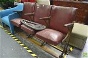 Sale 8277 - Lot 1016 - Theatre Seats by A.N.T & Co