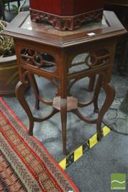Sale 8299 - Lot 1022 - Timber Occasional Table