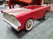 Sale 8566 - Lot 1020 - Early Metal Triang Pedal Car