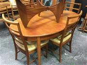 Sale 8643 - Lot 1037 - McIntosh Table and Set of 4 chairs