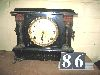Sale 7504A - Lot 86 - BLACK MANTEL CLOCK