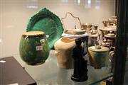 Sale 8116 - Lot 74 - Carlton Ware Vert Royal Vase with Other Ceramics incl Wedgwood