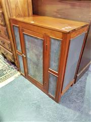 Sale 8657 - Lot 1027 - Antique Pine Meat Safe