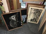 Sale 8659 - Lot 2140 - Collection of Framed Pictures