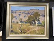 Sale 8914 - Lot 2090 - Ross Psakis - Landscapeoil on canvas on board, 56 x 66 cm, signed lower right
