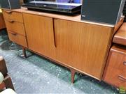 Sale 8607 - Lot 1013 - Quality McIntosh Teak Sideboard (H: 77 W: 152 D: 45cm)