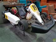Sale 8607 - Lot 1097 - Petrol Go Kart With Spare Parts (H: 60 L: 182 W: 115cm)