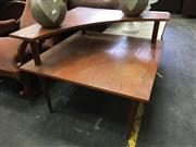 Sale 8676 - Lot 1021 - Retro Corner Coffee Table