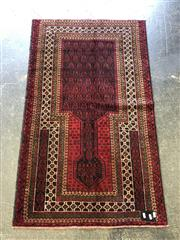 Sale 9006 - Lot 1030A - Hand Knotted Pure Wool Fine Buluchi (150 x 90cm)