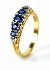 Sale 3808 - Lot 589 - A VICTORIAN STYLE SAPPHIRE AND DIAMOND RING;