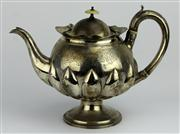 Sale 8130 - Lot 34 - English Hallmarked Sterling Silver George III Teapot