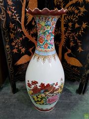 Sale 8566 - Lot 1139 - Large Chinese Vase (93)