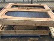 Sale 8839 - Lot 1371 - Collection of Timber and Glass Windows