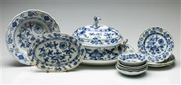 Sale 9192 - Lot 63 - A Collection of Meissen and Commissioned Meissen Ceramics
