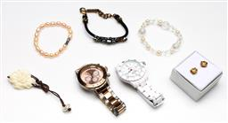 Sale 9253 - Lot 86 - A collection of jewellery and others incl. watches