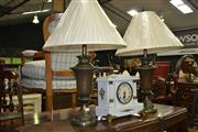 Sale 8093 - Lot 1128 - Set of 4 Urn Style Lamps