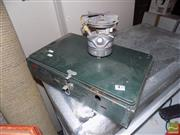 Sale 8478 - Lot 2128 - Coleman Dual Camping Oven & Another Single Burner (2)
