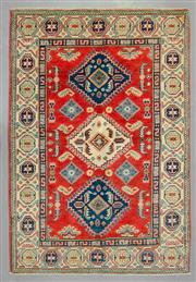 Sale 8539C - Lot 47 - Afghan Super Kazak 149cm x 102cm