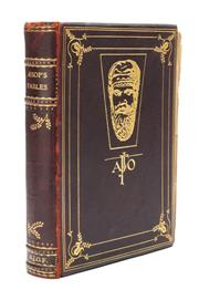 Sale 8864 - Lot 89 - GRISET, Ernest Henry (1843 - 1907) Illustrator - Aesop's Fables Given to James Fairfax as his first book by John B Bodson in 1933