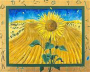 Sale 8902A - Lot 5037 - Anita West - Sunflower 1999 121.5 x 152.5 cm
