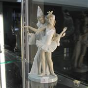 Sale 8231 - Lot 1 - Lladro Figural Group depicting a Dancing Couple