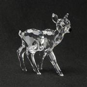 Sale 8412B - Lot 95 - Swarovski Crystal Deer with Box - Height 5.9cm