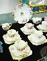 Sale 7346 - Lot 72 - A 21 PIECE DECO ROYAL DOULTON TEA SET
