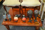 Sale 8129 - Lot 1055 - 3 Pairs Of Table lamps